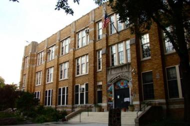 Pulaski School is located at 2230 W. McLean in Bucktown.