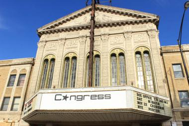 The Congress Theater at 2135 N. Milwaukee Ave.