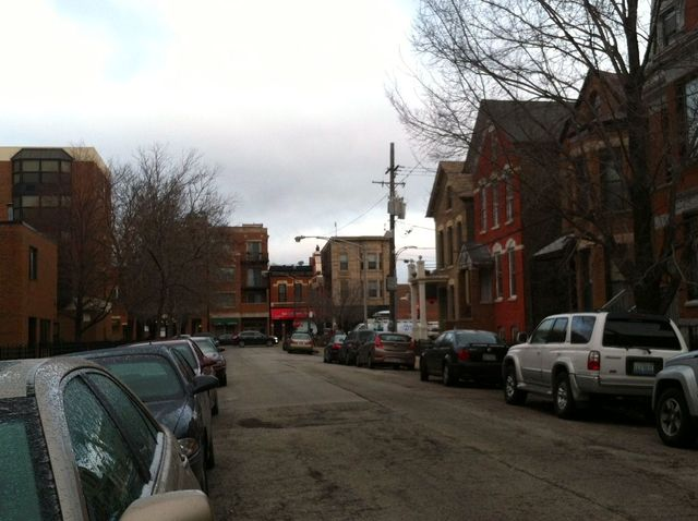 <p>The block in Lincoln Park where FBI agents apprehended escaped bank robber Joseph Banks. Neighbors report hearing a loud boom around the time Banks was arrested.</p>