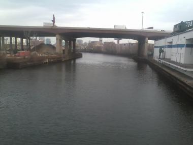 A body was found Wednesday afternoon on the South Branch of the Chicago River near Bridgeport, police said.