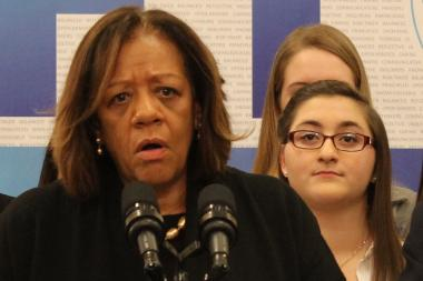 "CPS CEO Barbara Byrd-Bennett insisted, ""There is no list of schools to be closed."""