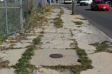 Replacing a crumbling sidewalk is expensive. The city will pick up half the tab for homeowners as part of the Shared Cost Sidewalk Program.