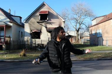 Damion Mosby, 29, of West Englewood, said he ran into the front part of the home at 5618 S. Paulina St., but heavy smoke thwarted his rescue effort.