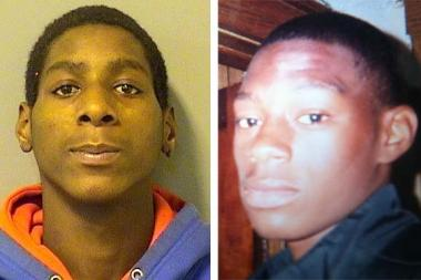 Darius Lewis, 17, (l.) was charged in connection with the accidental shooting death of Kentan Scott, 15.