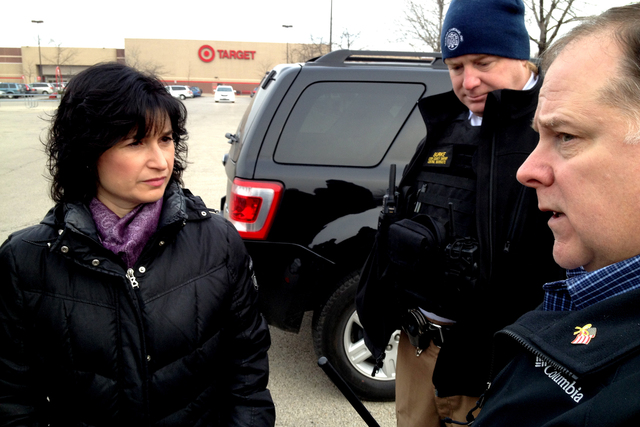 <p>Debra Silverstein, left, coordinated with police a crack down on prostitution and drug trafficking in West Ridge on Dec. 19, 2012.</p>