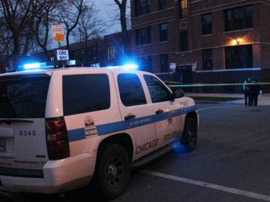 A 20-year-old man was shot in the back about 3 p.m. Thursday at 1429 N. Spaulding Ave., officials said.