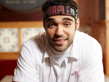 "Jimmy Bannos Jr. of the Purple Pig is one of six Chicago chefs nominated for Food & Wine's ""People's Best New Chef"" award."