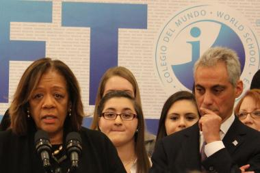 Chicago Public Schools chief Barbara Byrd-Bennett said CPS can't afford to keep underutilized schools open.