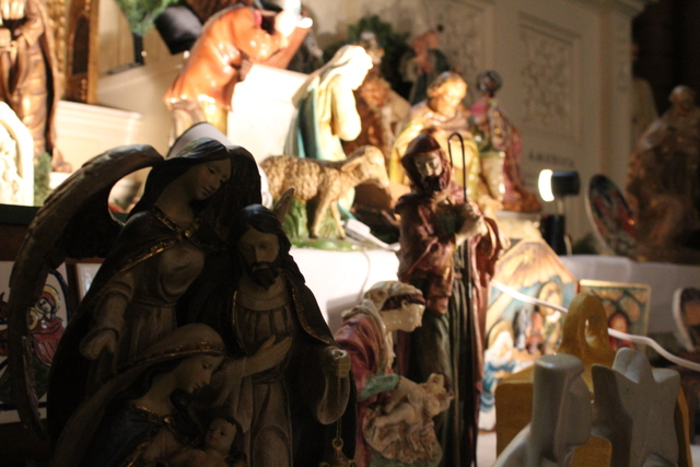 <p>In addition to a set of relics recently acquired by Holy Family Catholic church, a collection of nativities from around the world will also be on display through the Christmas season.</p>