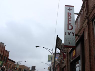 A man was arrested for allegedly stabbing another man in the bathroom of Red Ivy, at 3525 North Clark St., during the Twelve Bars of Christmas bar crawl.