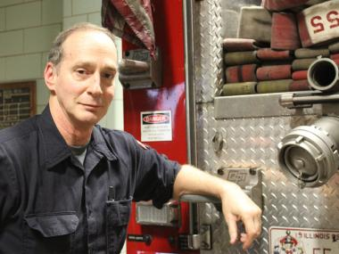 Sid Blustain, a Lakeview born-and-bred firefighter, will be retiring from the same battalion that he was born in 57 years ago.