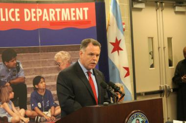 Chicago had 506 murders in 2012, according to the official police tally. Supt. Garry McCarthy said the city's murder problem stems from guns and gangs.