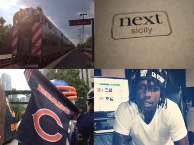 Public transit, classy restaurants, the Bears and rapper Chief Keef were high on the list of what Chicagoans Googled in 2012.