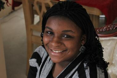 Kishauna McClain, 15, will attend the 8th Annual Presidential Inaugural Conference in Washington, D.C. from Jan. 19 to 23. It will be the first time the University of Chicago Charter School freshman traveled to the nation's capital.