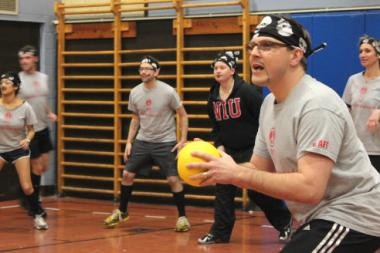 Adult dodgeball tourney raises funds for Ravenswood Elementary