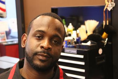 Sunni Powell grew up in Englewood and still resides there as well as works there as owner of Powells Barbershop, 1130 W. 63rd St. He has organized a career day for at-risk youth at his barbershop.