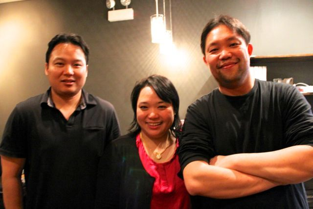 <p>O&#39;Cha Thai will celebrate its soft opening Jan. 20 and Grand Opening Jan. 26. The restaurant is owned by two brother-in-laws, Art Chaiyanuwong, far left, and Jiraphong Sopavanich. In the middle is Neeti Sopavanich, Jay&#39;s wife and Art&#39;s sister.</p>