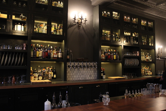 <p>Interior of new high-end cocktail bar, Billy Sunday.</p>