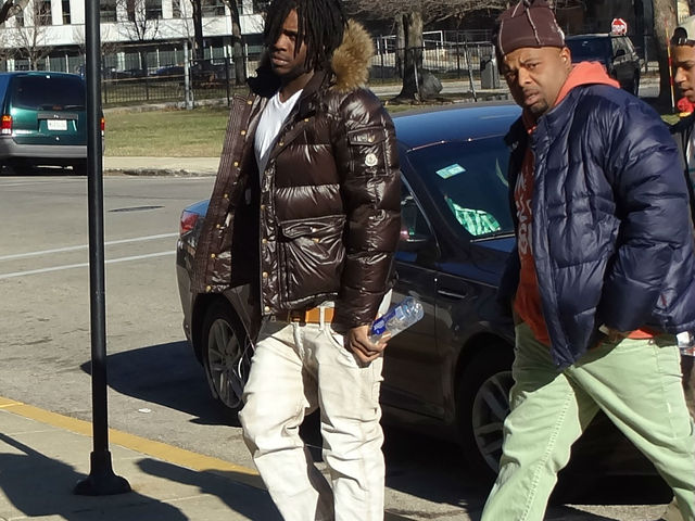 <p>Chief Keef (l.) make a court appearance Jan. 2 at the Cook County Juvenile Court Building, 1100 S. Hamilton Ave.</p>