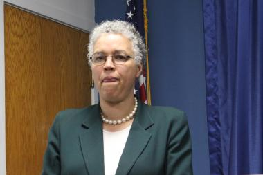 Cook County Board President Toni Preckwinkle says the land bank will help stabilize communities hit hard by the foreclosure crisis.