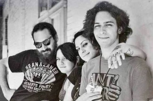 <p>&quot;American Picker&quot; reality TV star Danielle Colby, (second from r.) will be bringing her retail store, 4 Miles 2 Memphis, to 1734 W. North Ave. in Wicker Park. Pictured with Colby are her husband, Alexandre De Meyer, and Colby&#39;s children, Miles (r.) and Memphis.</p>