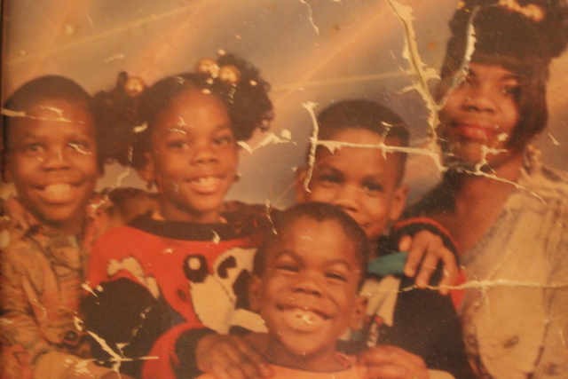 <p>Kimberly Common with her four children. Two of her children, Devin and Antonio, were shot and killed less than two years apart. Common said she wanted to see the face of the boy who killed her son Devin, who is scheduled to appear in court Thursday.</p>