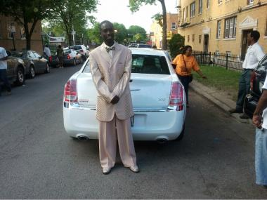 Devonta Grisson, 19, was shot dead in Gage Park on New Year's Day. Here, Grisson is featured dressed up for high school graduation in a photo from June 2012.
