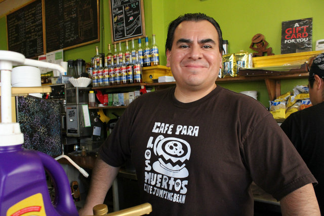 <p>Cafe Jumping Bean recently celebrated its 19th anniversary at 1439 W. 18th St. Owner Eleazar Delgado credits the longevity to his fresh sandwiches and salads and hardworking staff.</p>