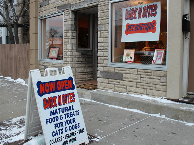 <p>Bark N Bites, 702 W. 35th St., offers natural and organic pet foods.</p>