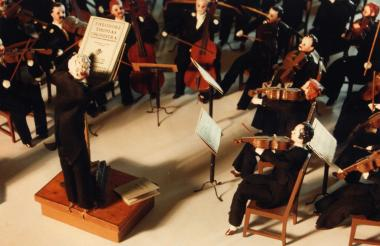 The Glessner Museum is celebrating the 100th anniversary of a miniature Chicago Symphony Orchestra diorama.