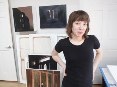 Logan Square artist Gwen Zabicki is founder of the South Logan Arts Coalition, which is accepting artist applications for free studio space until Feb. 1.