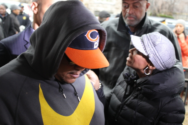 <p>Hadiya Pendleton&#39;s father, Nathaniel Pendleton Sr., spoke at Wednesday&#39;s news conference about the &quot;light&quot; of his life, who was killed a week after performing at President Obama inauguration.</p>