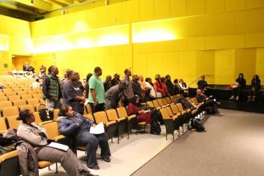Former teachers under Shontae Higginbottom at Avalon Park Elementary showed up at the King College Prep Local School Council meeting Wednesday night to defend the principal, who has been criticized as a disciplinarian.