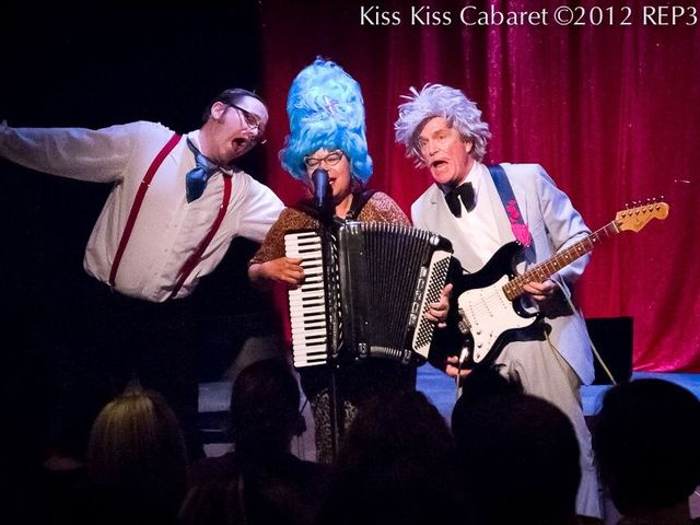 <p>Kiss Kiss Cabaret celebrates its 100th show Friday night at the Greenhouse Theater.</p>