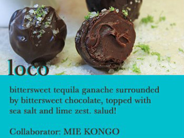 <p>A little tequila and sea salt liven up the Loco truffle, which artist Mie Kongo will use as inspiration for a ceramic piece.</p>