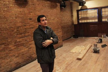 Matt Fisher plans to open 63, an upscale bar and grill, this spring at the former Hamilton's location. Crews worked to renovate the space Wednesday, Jan. 23, 2013.