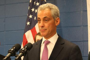 Mayor Rahm Emanuel credits his tourism bureau for continued increases in hotel occupancy.