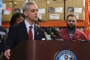 Mayor Rahm Emanuel grew openly emotional Wednesday when talking of the loss of 15-year-old Hadiya Pendleton.