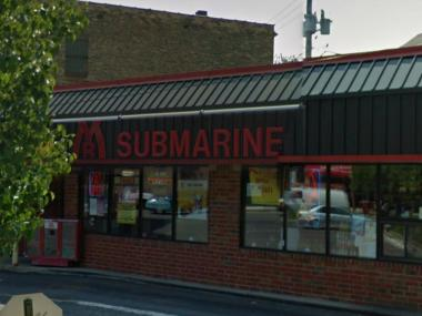 Police are looking for a man who robbed the Mr. Submarine restaurant at 1525 W. Fullerton Parkway.