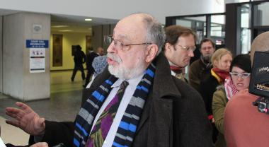 Michael Deutsch, an attorney with the People's Law Office who represents one of three men arrested and indicted on terrorism-related charges during the NATO summit last year, filed a motion Friday calling for those charges to be dismissed based on vague state law.