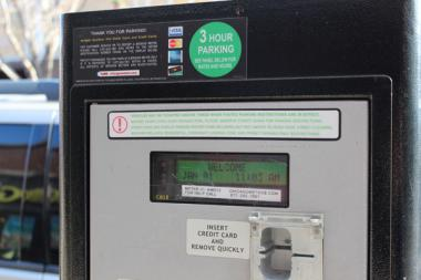 Parking meter rates were set to go up this year.
