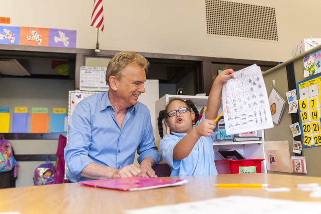 <p>Wheel of Fortune host Pat Sajak, the new celebrity spokesman for the Hope Institute for Children and Families.</p>