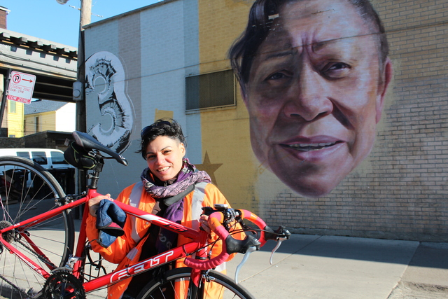 <p>Ortiz also gives bike tours around the Pilsen neighborhood.</p>