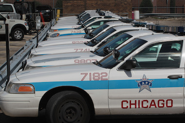 Fourteen people were murdered in Chicago in February, down from 28 in February 2012, police said.