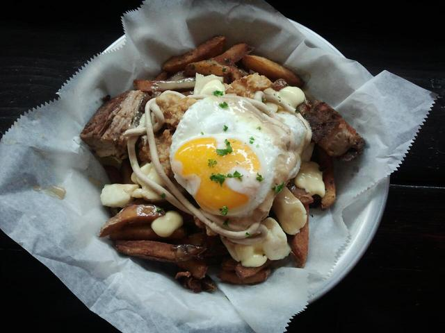 <p>One of BadHappy Poutine Shop&#39;s signature dishes, &quot;The Good, The Bad, and the Happy.&quot;</p>