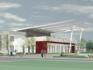 Construction is about to begin on a new $13 million field house at Chinatown's Ping Tom Memorial Park.
