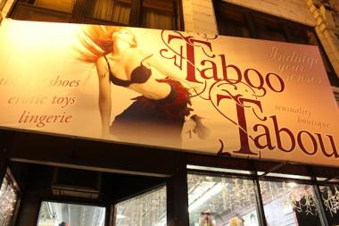 Taboo Tabou, 854 W. Belmont Ave., is a lingerie and adult toy shop in Lakeview.