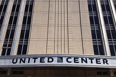The United Center has received millions of dollars in tax breaks. The teachers union says that taints Bull owner Jerry Reinsdorf's support for charter schools.