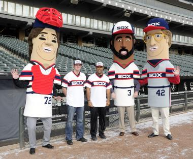 "Throwback uniforms and ""Winning Ugly"" mascot races will be part of the Sunday fun at U.S. Cellular Field."