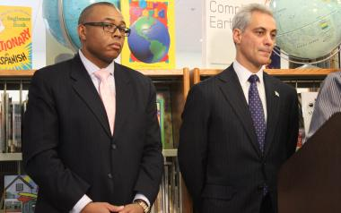 "Ald. Howard Brookins (21st) and Mayor Rahm Emanuel both expressed ""impatience"" over the city's murder rate Monday."